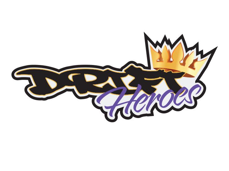 Drift Heroes logo design by Boss Dog
