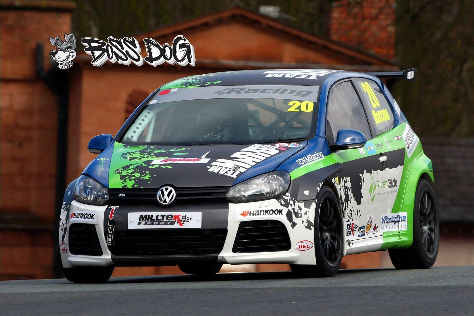 VW Golf MK5 team hard vw golf cup racing graphics