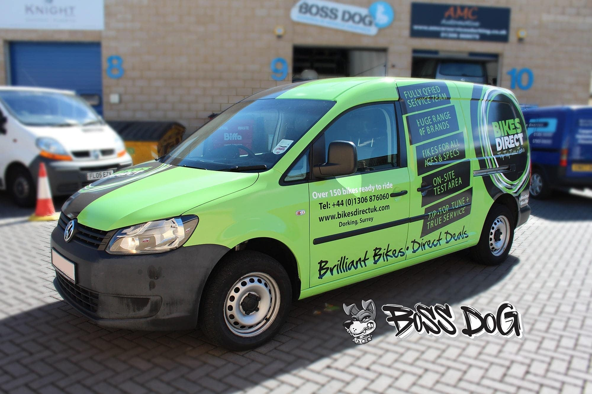 digital print van full wrap