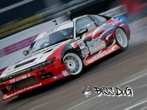 nissan skyline r32 drift car graphics wrapped in digital print