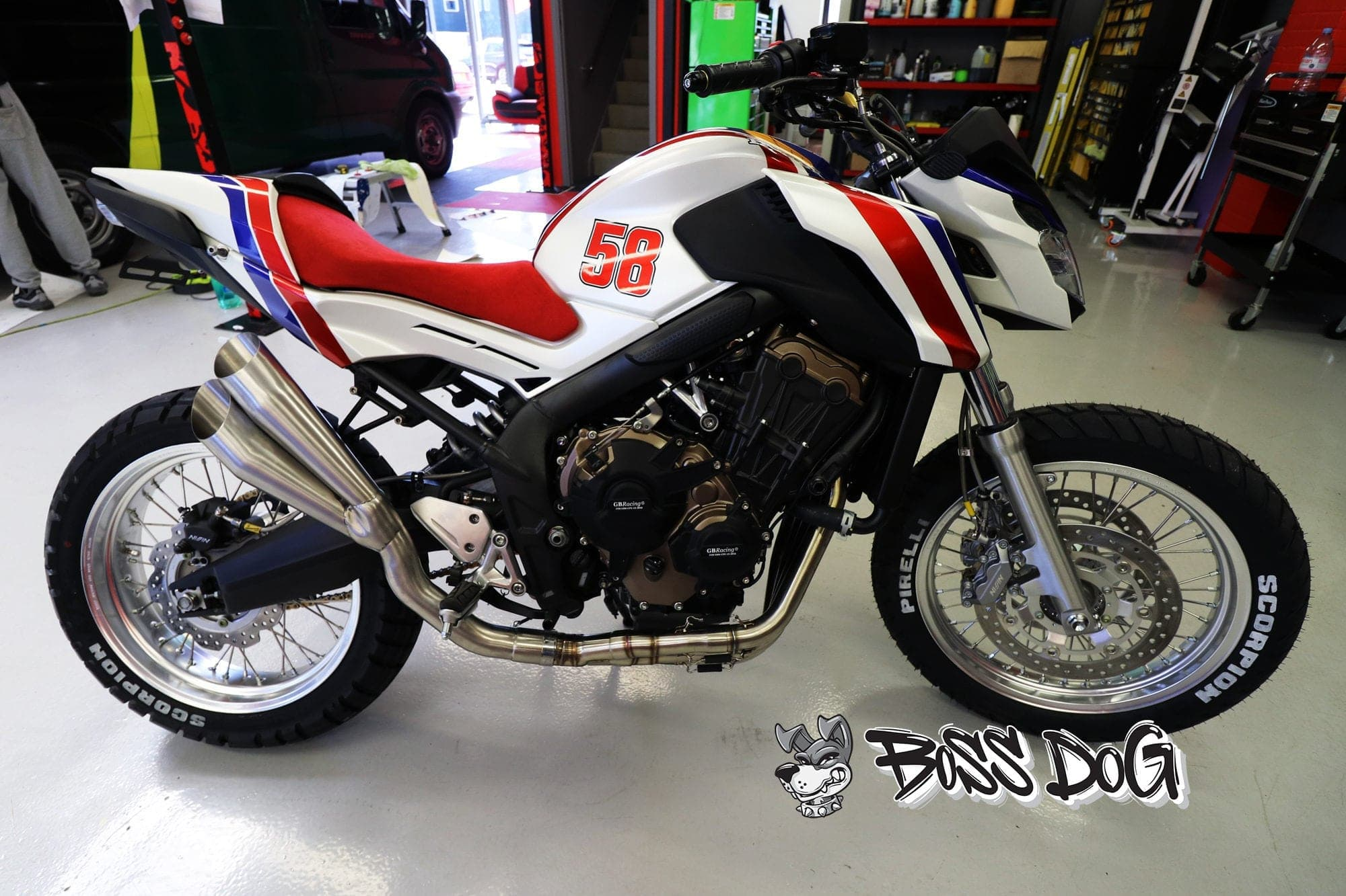 Honda CB1100TR special editions full motorbike wrap