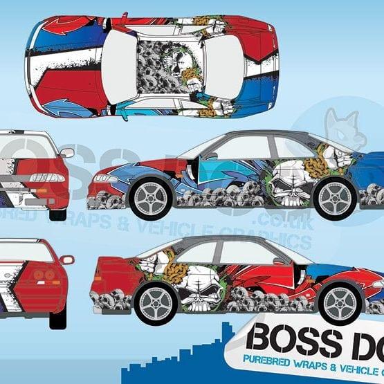 Race Car Wraps Archives Boss Dog