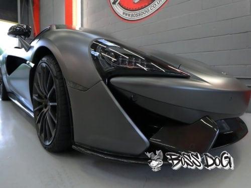 McLaren 610GT full car wrap in Matt metallic charcoal