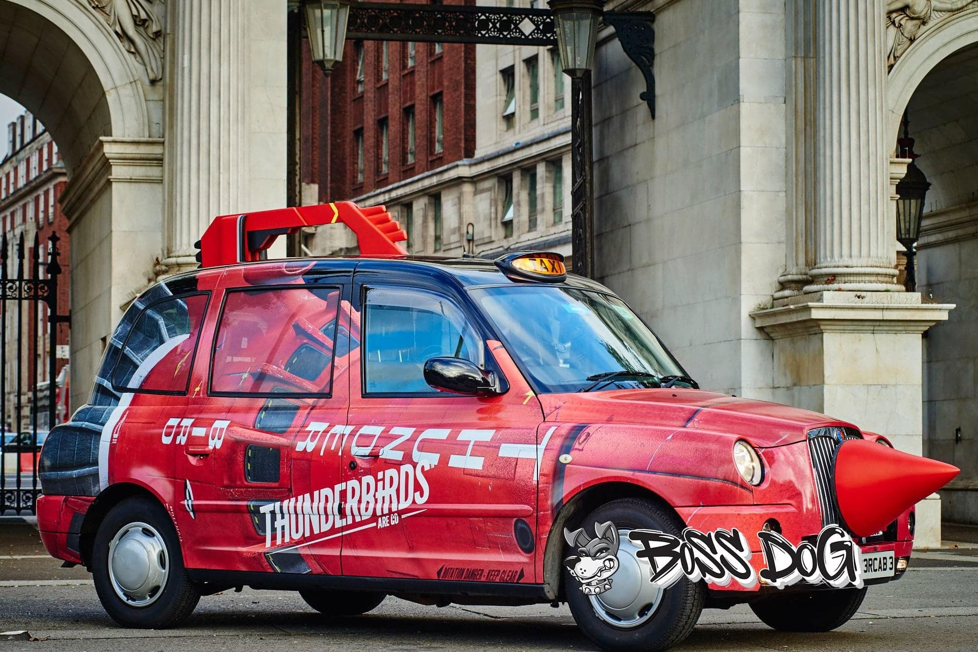 Thundercabs full wrap digital print taxi