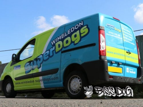 Wimbledon SuperDogs Wrap
