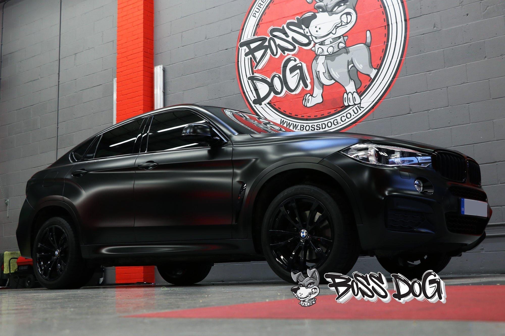 BMW X6 Satin Black
