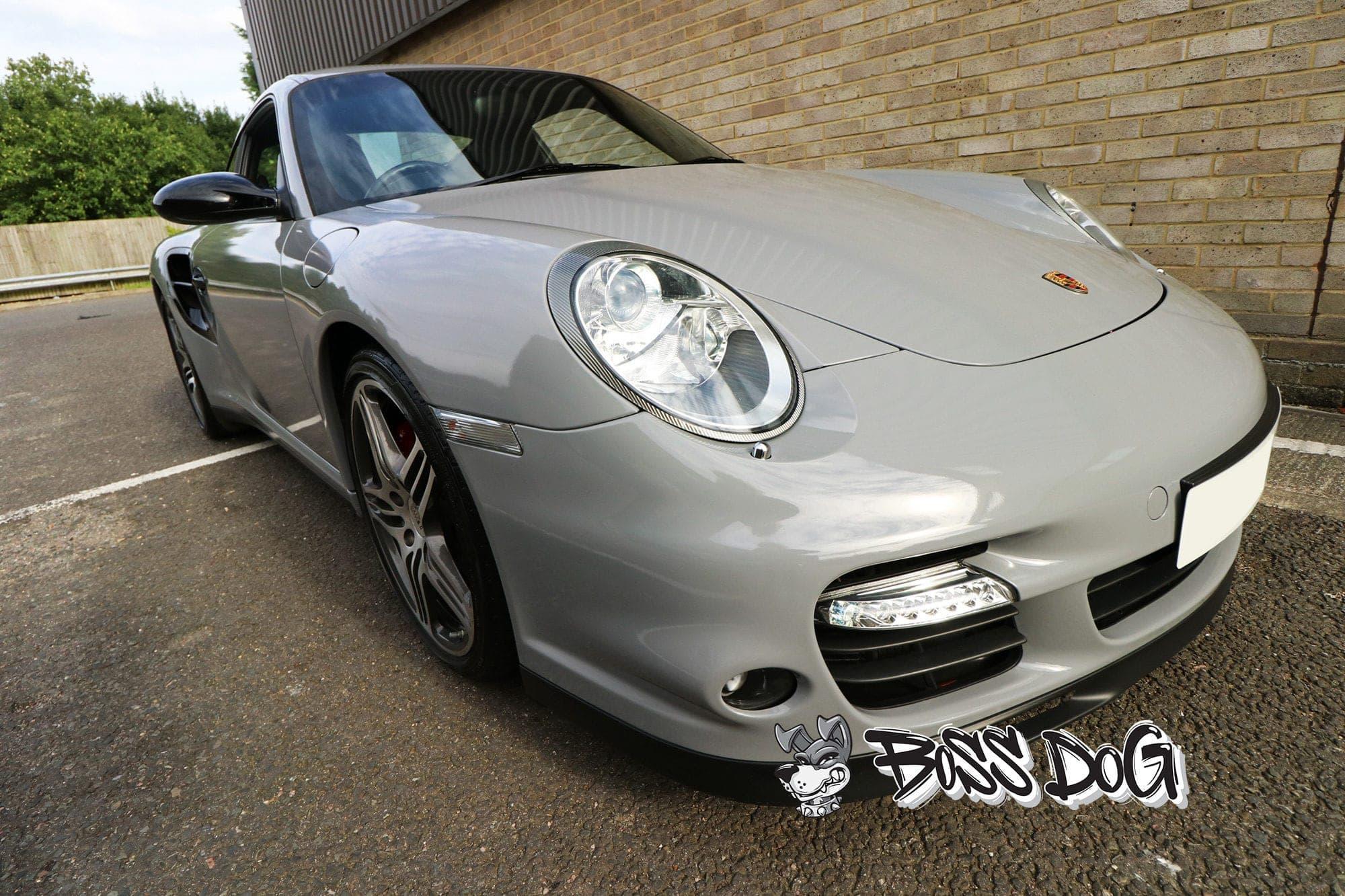 Porsche nardo grey wrap